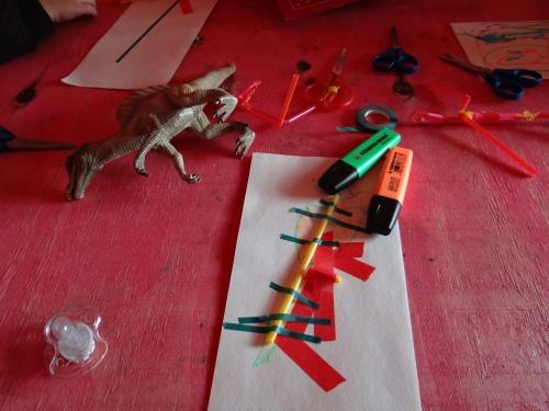 Stilleben Workshop mit Dreijährigen
